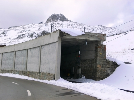 Oberalppass Tunnel eastern portal