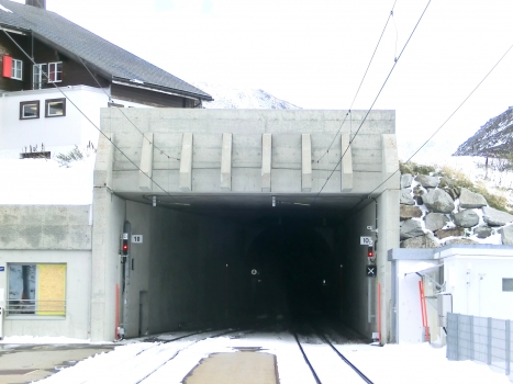 Oberalppass Tunnel western portal