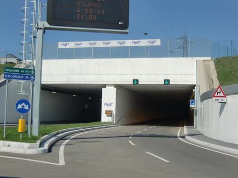 Cascina Gobba tunnel southern portals