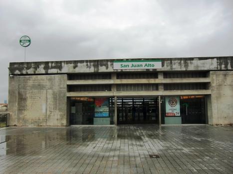 Metrobahnhof San Juan Alto