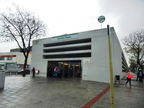 Ciudad Expo Metro Station