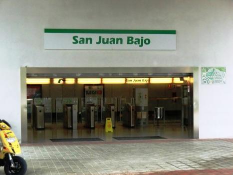 Metrobahnhof San Juan Bajo