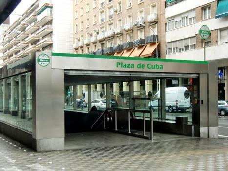 Station de métro Plaza de Cuba