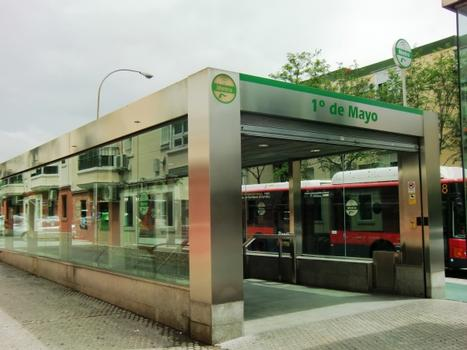 Metrobahnhof 1° de Mayo