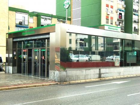 Metrobahnhof Montequinto