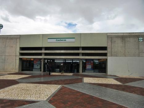 Cocheras Metro Station