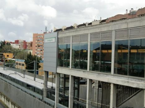 Metrobahnhof Condequinto