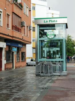 Metrobahnhof La Plata