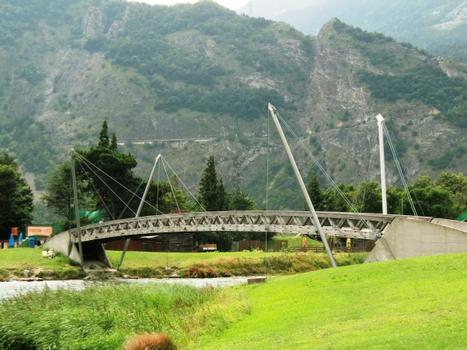 Martigny Service Area Footbridge