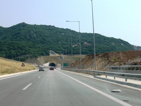 Paramythia Tunnel western portal