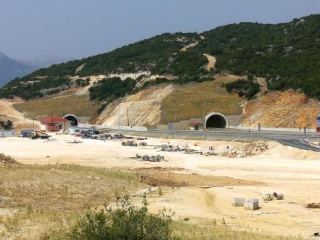 Paramythia Tunnel eastern portals