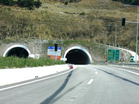 Zagori Tunnel western portals