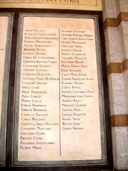 Famedio (Cimitero Monumentale)