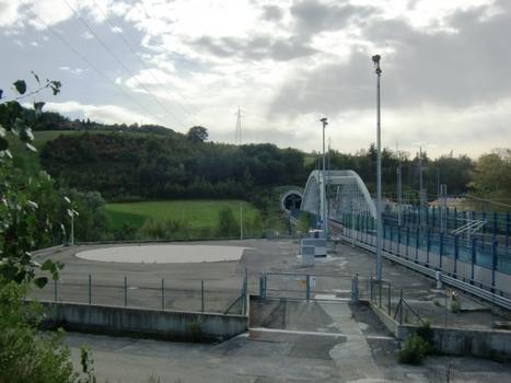 Savena Viaduct and Pianoro northern portal