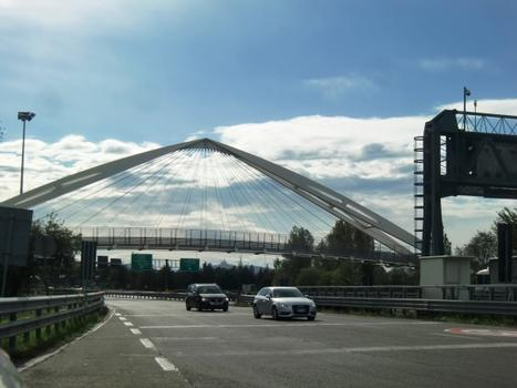 Dozza footbridge
