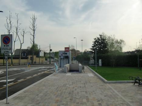 San Siro Ippodromo Metro Station