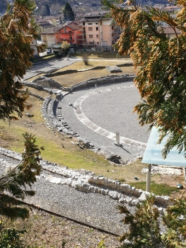 Civitas Cammunorum Roman Theater and amphiteater