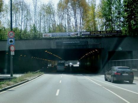 Leuchtenbergring Tunnel northern portal