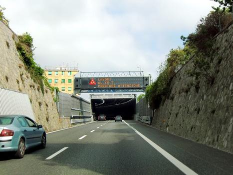 Prà 1 Noise Reduction Tunnel, western portal