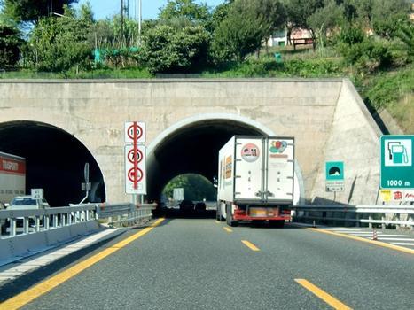 Quattro Stagioni Tunnel western portals
