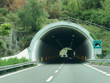 Cà d'Alto Tunnel western portal