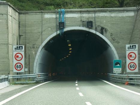 Monte Camaldoli Tunnel western portal