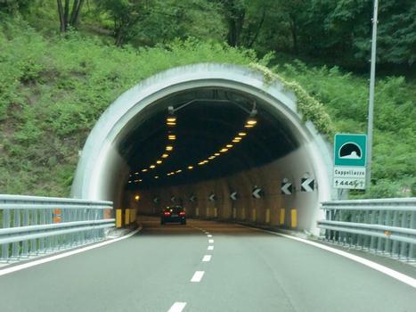 Cappellazzo Tunnel western portal
