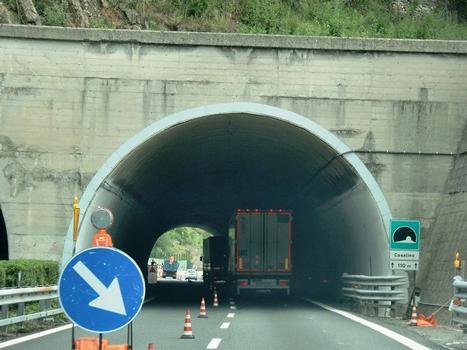 Casalino Tunnel western portal