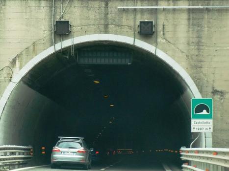 Castelletto Tunnel western portal