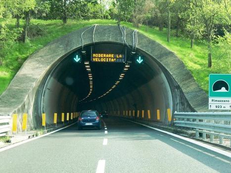 Rimazzano Tunnel northern portal