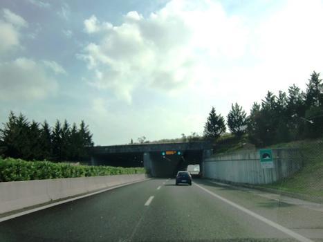Santa Luce Tunnel northern portal