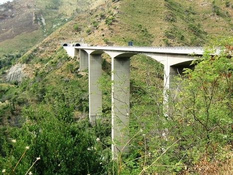 Nervi Viaduct and Costa di Monte Moro tunnel eastern portals