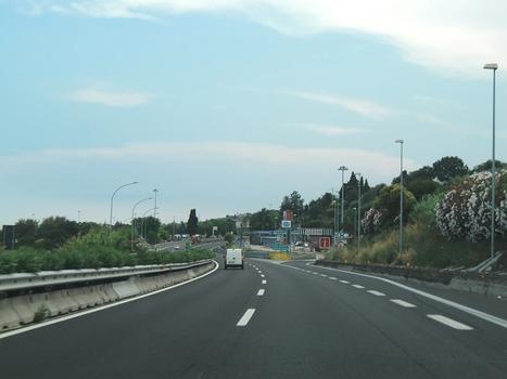 A 14 Motorway at service area Tortoreto