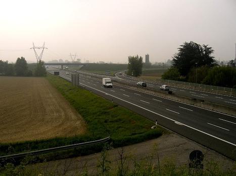 A1 motorway at Piacenza Nord exit