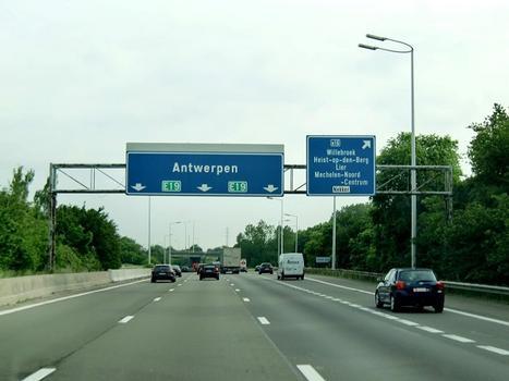 A1 Motorway at Mechelen North