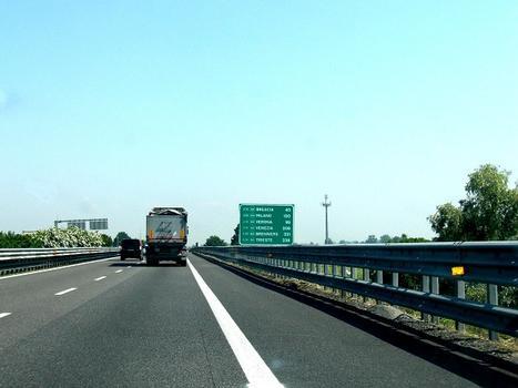A21 Motorway near Cremona