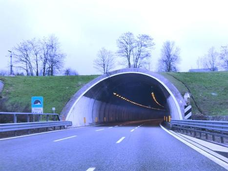 Olimpia Tunnel, northern portal