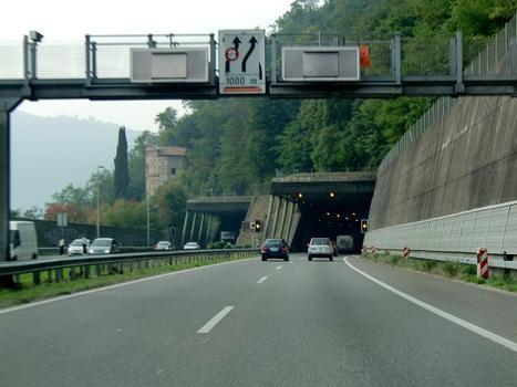 San Salvatore-Tunnel