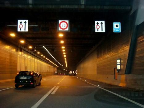 Sonnenberg Tunnel, northern direction