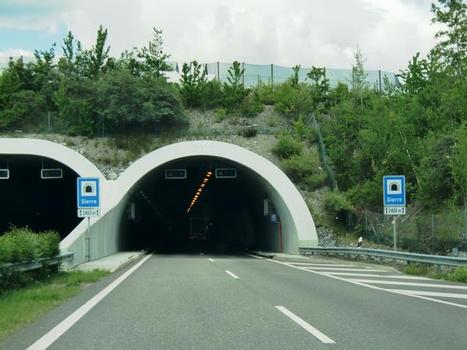Tunnel Sierre