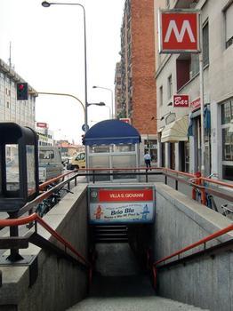 Villa San Giovanni Metro Station, access