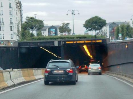 Leopold II-Sainctelette Tunnel southern portal