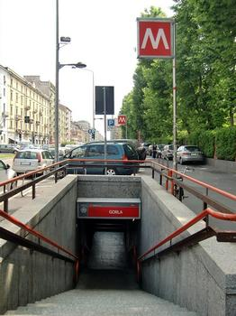 Gorla Metro Station, access