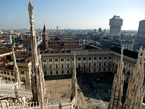 Palazzo Reale from Duomo roof