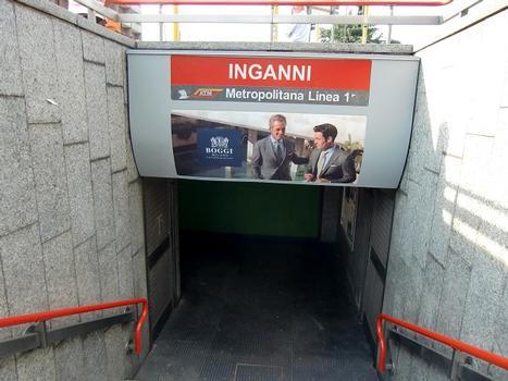 Inganni Metro Station