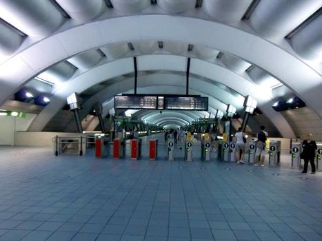 Milano Porta Venezia Station, mezzanine