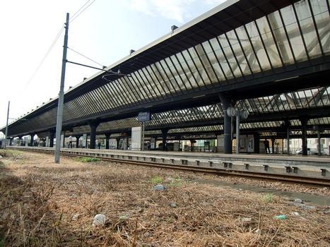 Milano Certosa Station from Via Triboniano