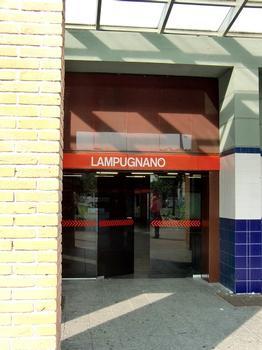 Lampugnano Metro Station - access