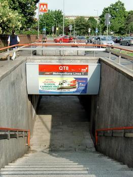 QT8 Metro Station - access