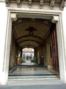 "Casa di Riposo per Musicisti ""G.Verdi"", main door"